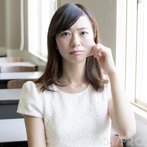 カメラ女子は80年代アニメ好き 慶應義塾大学 宮崎玲衣