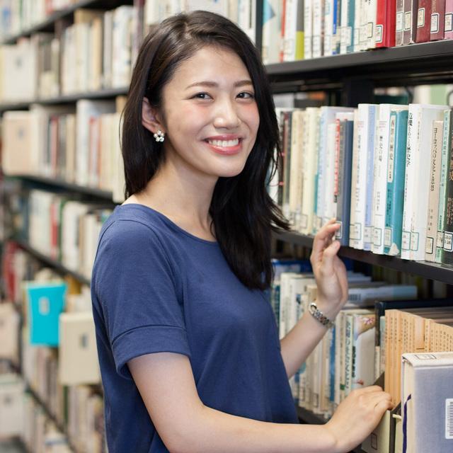 「やわらかくて大きな口がチャームポイントです」 帝京大学 中村朱里