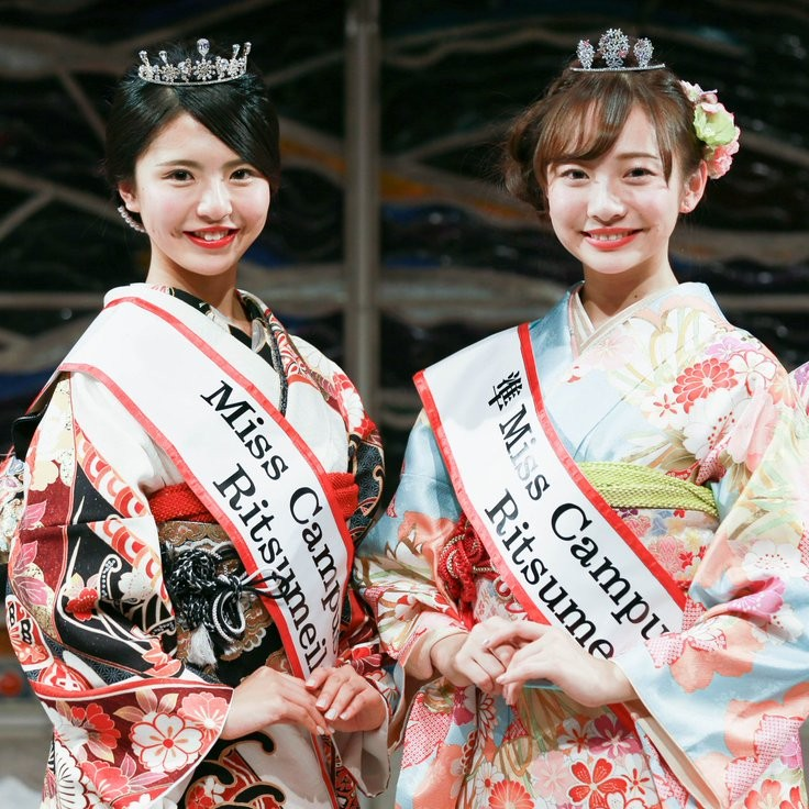 ミスコンで京都の文化を発信 ミス立命館大学